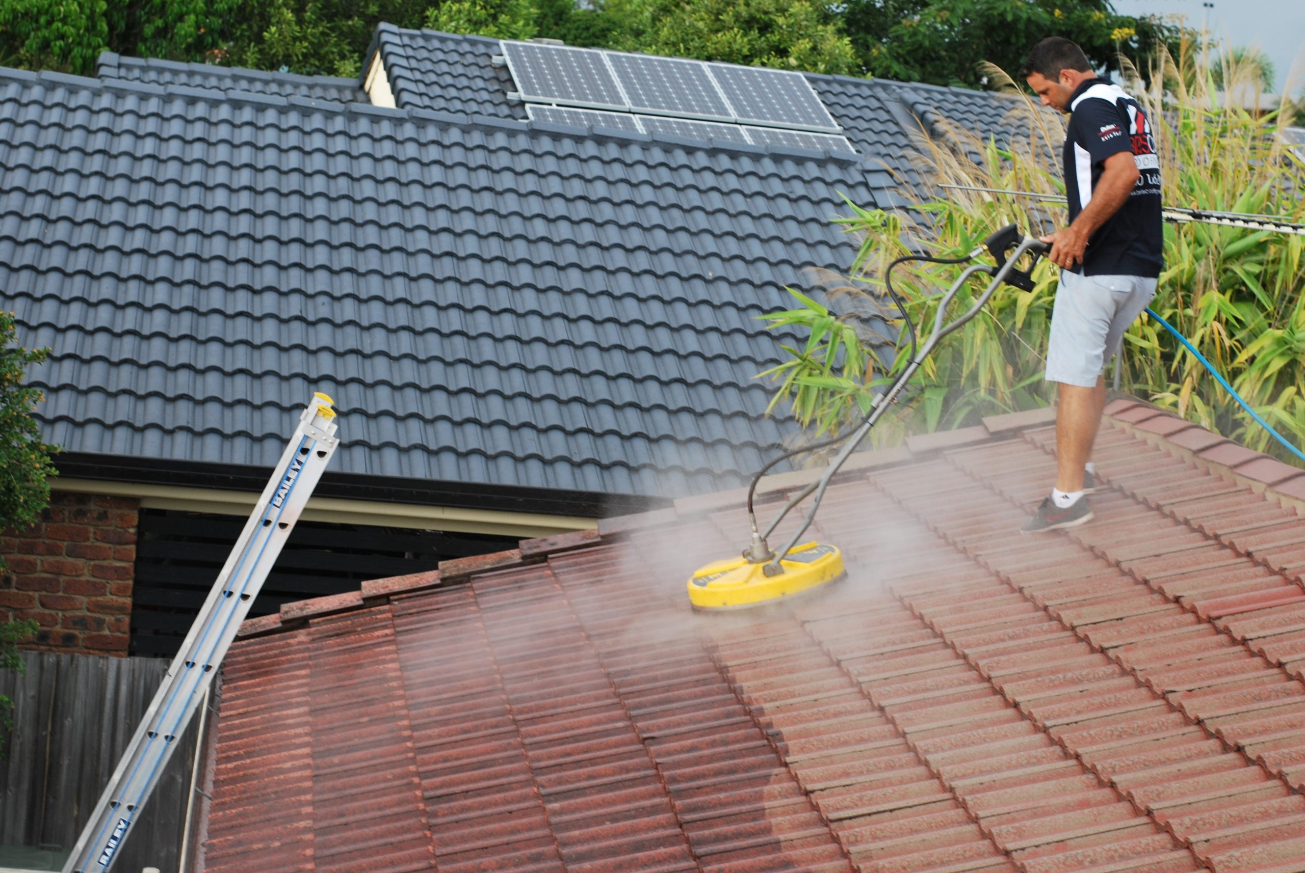 roof washing service near me